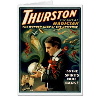 Carte Thurston le grand magicien C. 1915