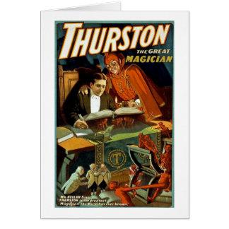 Carte Thurston le grand magicien - cru