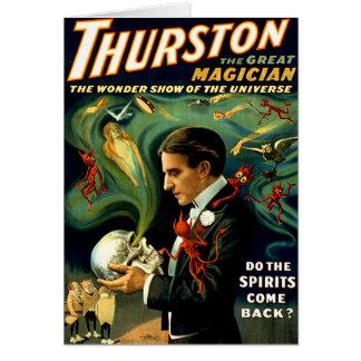 Carte Thurston - les spiritueux reviennent-ils ?