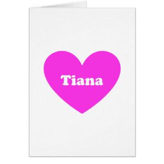 Carte Tiana