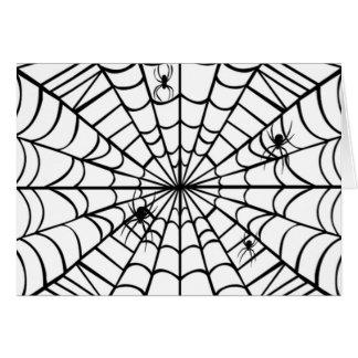 Carte Toile d'araignée