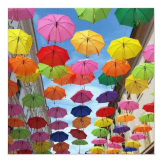 Carte Toit des parapluies