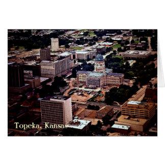 Carte Topeka, le Kansas