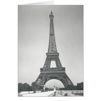 Carte Tour Eiffel, 1887-89