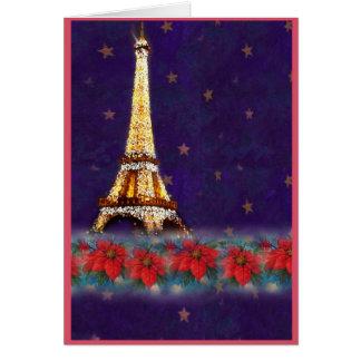 CARTE TOUR EIFFEL, DE PARIS AVEC AMOUR