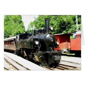 Carte Train au musée ferroviaire de Chamby