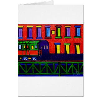 Carte Train Bronx d'EL