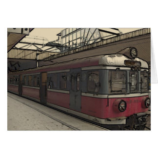 Carte Train étrange de Cracovie