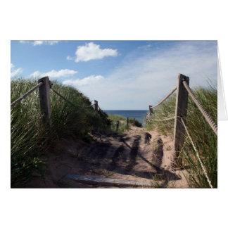 Carte Traînée de dunes de Greenwich