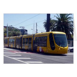 Carte tram de Melbourne nouveau