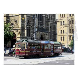 Carte tram historique
