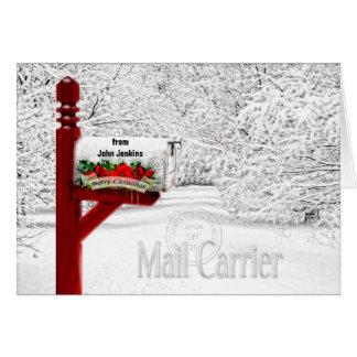 Carte Transporteur de courrier ou postal - boîte aux