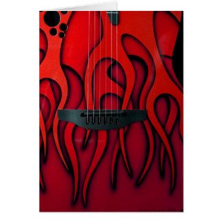 Carte Travaux de guitare