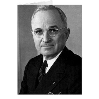 Carte Trente-troisième président de Harry S. Truman