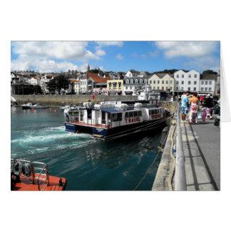 Carte Trident V, port de St Peter, Guernesey