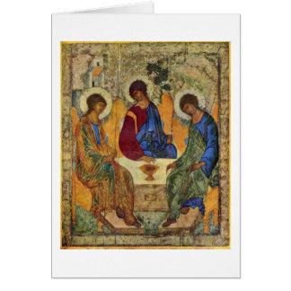 Carte Trinité sainte par Andrei Rublev