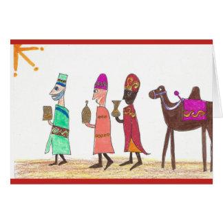 Carte Trois rois de l'Orient