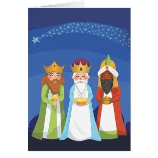 Carte Trois sages