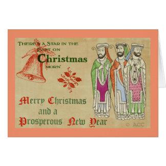 Carte Trois sages/Joyeux Noël