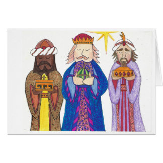 Carte Trois types sages