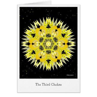 Carte Troisième Chakra