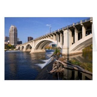 Carte Troisième pont d'avenue à Minneapolis
