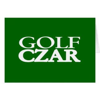 Carte Tsar de golf