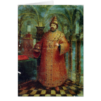 Carte Tsar Ivan Alexeevich V