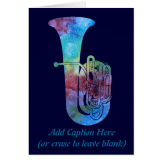 Carte Tuba de Colorwashed