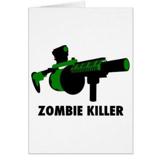 Carte Tueur de zombi