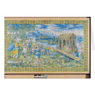 Carte Tuile dépeignant l'histoire de Noé