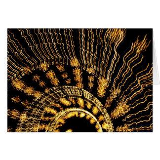 Carte tunnel des lumières