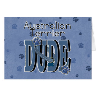 Carte TYPE de Terrier australien