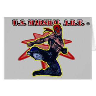 """Carte U.S. MARÉCHAL A.R.T. """"carte de voeux """""""
