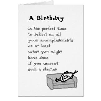 Carte Un anniversaire