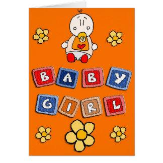 Carte Un bébé