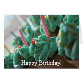 Carte Un bon nombr'et un bon nombre de petits gâteaux :