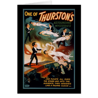 Carte Un des mystères stupéfiants de Thurston