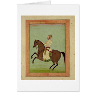 Carte Un noble de Mughal à cheval, c.1790, du Larg