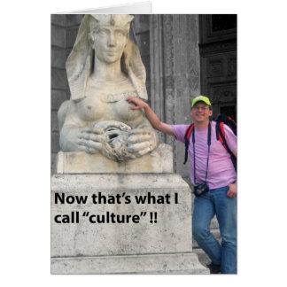 Carte Un regard alternatif à la culture !