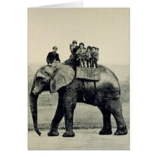 Carte Un tour d'adieu sur l'éléphant