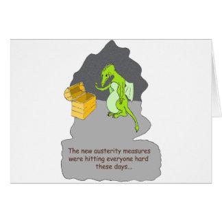 Carte Une austérité de dragons