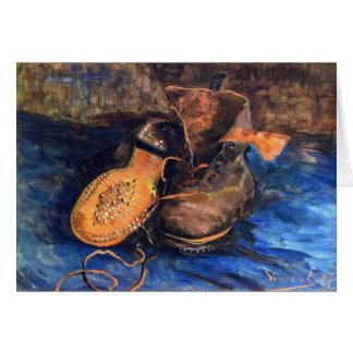 Carte Une paire de chaussures par Vincent van Gogh 1887