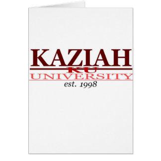 CARTE UNIVERSITÉ DE KAZIAH