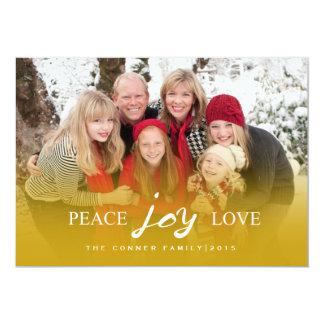 Carte VACANCES de l'amour | de joie de paix