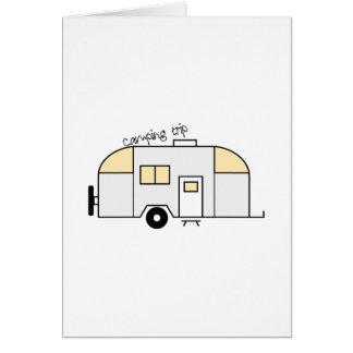 Carte Vacances en camping