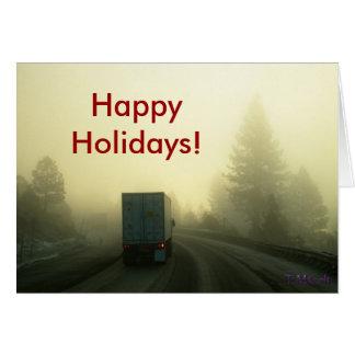 Carte Vacances sur la route