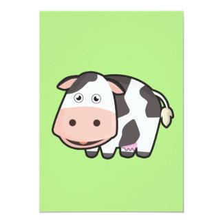 Carte Vache à Kawaii