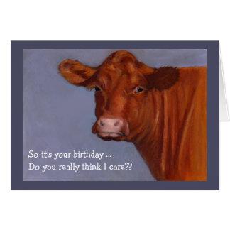 Carte Vache de boucherie de Hereford : Est-ce que je