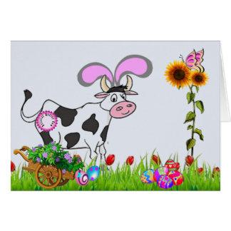 Carte Vache officielle à Pâques